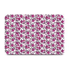 Roses Pattern Plate Mats by Valentinaart