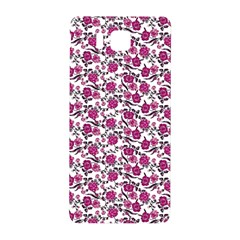 Roses Pattern Samsung Galaxy Alpha Hardshell Back Case by Valentinaart
