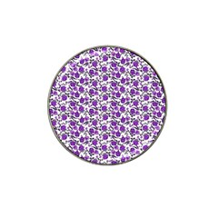 Roses Pattern Hat Clip Ball Marker (4 Pack) by Valentinaart