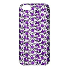Roses Pattern Apple Iphone 5c Hardshell Case
