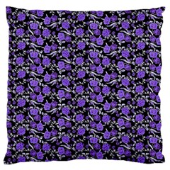 Roses pattern Large Cushion Case (One Side)