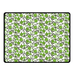 Roses Pattern Fleece Blanket (small) by Valentinaart