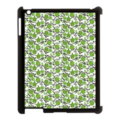 Roses Pattern Apple Ipad 3/4 Case (black) by Valentinaart