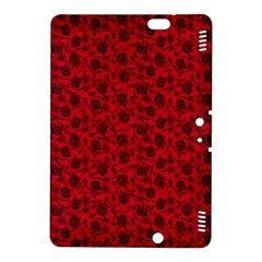 Roses Pattern Kindle Fire Hdx 8 9  Hardshell Case by Valentinaart