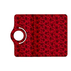Roses Pattern Kindle Fire Hd (2013) Flip 360 Case by Valentinaart
