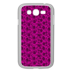 Roses Pattern Samsung Galaxy Grand Duos I9082 Case (white) by Valentinaart
