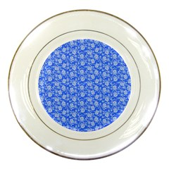 Roses Pattern Porcelain Plates by Valentinaart