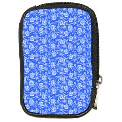 Roses Pattern Compact Camera Cases by Valentinaart