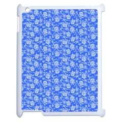 Roses Pattern Apple Ipad 2 Case (white) by Valentinaart