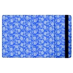 Roses Pattern Apple Ipad 3/4 Flip Case by Valentinaart