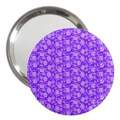 Roses Pattern 3  Handbag Mirrors by Valentinaart