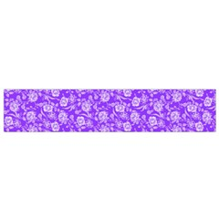 Roses Pattern Flano Scarf (small) by Valentinaart