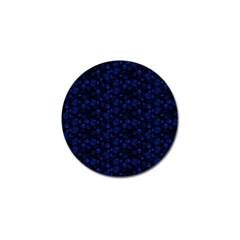 Roses pattern Golf Ball Marker (4 pack)