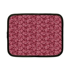 Roses Pattern Netbook Case (small)  by Valentinaart