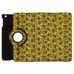 Roses Pattern Apple Ipad Mini Flip 360 Case by Valentinaart