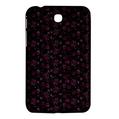 Roses Pattern Samsung Galaxy Tab 3 (7 ) P3200 Hardshell Case  by Valentinaart
