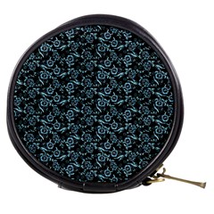 Roses Pattern Mini Makeup Bags by Valentinaart