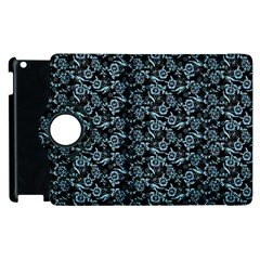 Roses Pattern Apple Ipad 2 Flip 360 Case by Valentinaart