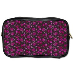 Roses Pattern Toiletries Bags by Valentinaart