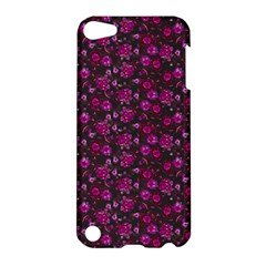 Roses Pattern Apple Ipod Touch 5 Hardshell Case by Valentinaart