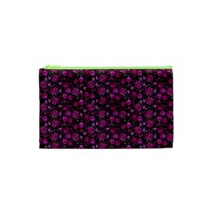 Roses Pattern Cosmetic Bag (xs) by Valentinaart