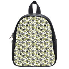 Roses Pattern School Bags (small)  by Valentinaart