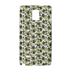 Roses Pattern Samsung Galaxy Note 4 Hardshell Case by Valentinaart