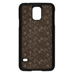 Roses Pattern Samsung Galaxy S5 Case (black) by Valentinaart
