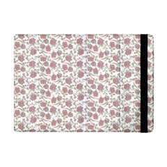 Roses pattern Apple iPad Mini Flip Case by Valentinaart