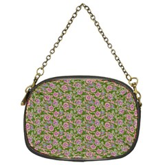 Roses Pattern Chain Purses (one Side)  by Valentinaart