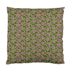 Roses Pattern Standard Cushion Case (one Side) by Valentinaart