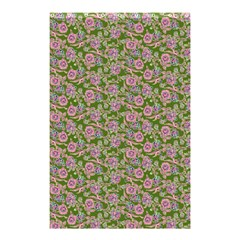 Roses Pattern Shower Curtain 48  X 72  (small)  by Valentinaart