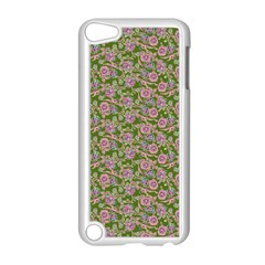 Roses Pattern Apple Ipod Touch 5 Case (white) by Valentinaart