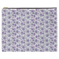 Roses Pattern Cosmetic Bag (xxxl)  by Valentinaart