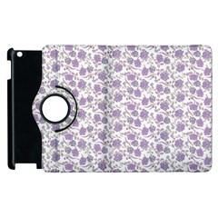 Roses Pattern Apple Ipad 3/4 Flip 360 Case by Valentinaart