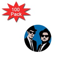 Blues Brothers  1  Mini Buttons (100 Pack)  by Valentinaart