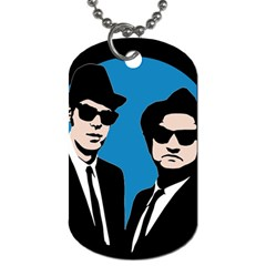 Blues Brothers  Dog Tag (two Sides) by Valentinaart