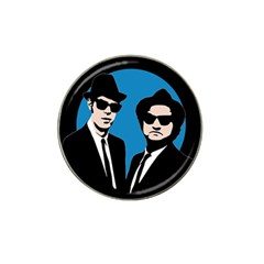 Blues Brothers  Hat Clip Ball Marker by Valentinaart
