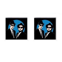 Blues Brothers  Cufflinks (square) by Valentinaart