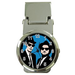 Blues Brothers  Money Clip Watches by Valentinaart