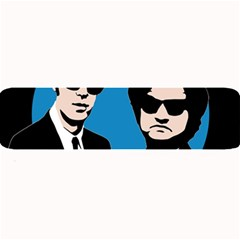 Blues Brothers  Large Bar Mats by Valentinaart