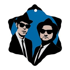 Blues Brothers  Ornament (snowflake) by Valentinaart