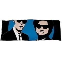Blues Brothers  Body Pillow Case (dakimakura) by Valentinaart
