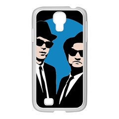 Blues Brothers  Samsung Galaxy S4 I9500/ I9505 Case (white) by Valentinaart