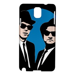 Blues Brothers  Samsung Galaxy Note 3 N9005 Hardshell Case by Valentinaart