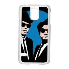Blues Brothers  Samsung Galaxy S5 Case (white) by Valentinaart