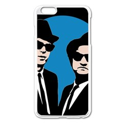 Blues Brothers  Apple Iphone 6 Plus/6s Plus Enamel White Case by Valentinaart