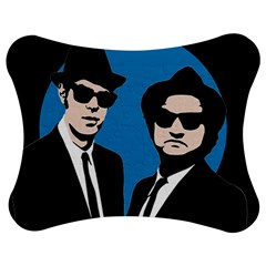 Blues Brothers  Jigsaw Puzzle Photo Stand (bow) by Valentinaart