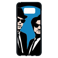 Blues Brothers  Samsung Galaxy S8 Plus Black Seamless Case