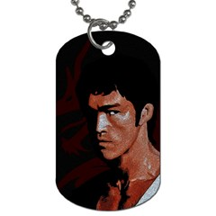 Bruce Lee Dog Tag (two Sides) by Valentinaart